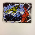 O.T., Farblinol, 1986, ca. 40 x 50 cm, noch 5