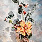 Le bouquet aux oiseaux