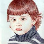 Estelle à 5 ans