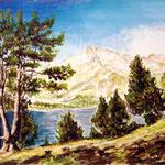 Le Lac d'Aumar et le Néouvielle 2
