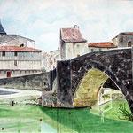 Nérac : le Pont Vieux sur la Baïse