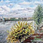 Vent d'Automne sur la Garonne