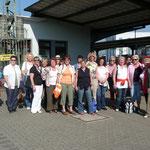 25.August 2007 Die Marketenderinnen freuen sich auf ihre Tour
