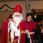 Erste Begegnung mit dem Nikolaus