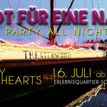 The Crazy Hearts, Stadt für eine Nacht Potsdam, Theaterschiff Potsdam