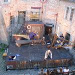 Theatersommer 2005, TJG mit Cyrano de Bergerac im kleinen Schlosshof
