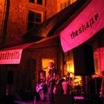 Schlossfest 2005, Bandbreite im kleinen Schlosshof