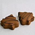L'orangine: massepain à l'orange confite.