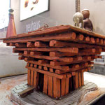 Réplique du pavillion chinois en chocolat