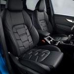 Nissan Qashqai 2017 - intérieur cuir nappa Tekna+