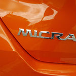 Nissan Micra 2017 Tekna Orange Racing