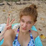 Ein bisschen übertrieben mit dem Selfies schießen diesen Urlaub