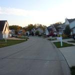 eine andere Straße in der Nachbarschaft