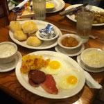 es gab Frühstück zum Abendbrot. Ach wie ich es liebe entscheiden zu können was ich wann essen möchte