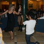 spontane Tanzeinlage