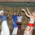 Freies Tanzen mit netten Menschen
