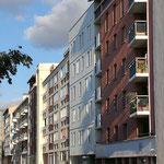 Façade, Habitat participatif l'Atoll, Toulouse, 10 logements, accompagné par Faire-Ville. Architectes Atelier Tanka. Photo©Faire-Ville