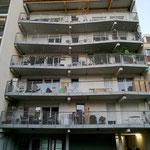 Balcons côté jardin, Habitat participatif l'Atoll, Toulouse, 10 logements, accompagné par Faire-Ville. Architectes Atelier Tanka. Photo©Faire-Ville