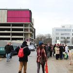 """Arrivée des futurs habitants, Habitat participatif """"Aux 4 vents"""", Cartoucherie, Toulouse"""