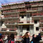 """Habitat participatif """"Aux 4 vents"""", Cartoucherie, Toulouse, Le Chantier"""