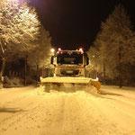Winterdienstimpression Dez. 2012 morgens um 03 00 Uhr
