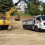 Aushub für Hurni AG Vogelsang Biel