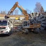 Durchstich Längholztunnel 2012