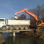 Renaturierung Lyssbach für Fankhauser Tiefbau 2007