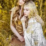 Wald, mystisches Portrait, Fantasyportrait, Fantasyfotografie, Inszenierte Fotografie, besondere Bilder, Elfen, Freundinnen