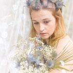 Wald, mystisches Portrait, Fantasyportrait, Fantasyfotografie, Inszenierte Fotografie, besondere Bilder, Bohemian, Boho