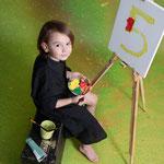 Geburtstagsshooting, Kindergeburtstag, Kinderportrait, Kinderfoto, Kinderfotograf, Acrylfarbe, Fingerfarbe, Geburtstag