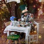 Mad Hatter, verrückter hutmacher, Alice im Wunderland, Fantasyshooting, inszenierte Fotografie, Kinderfoto, verkleiden, Fasching, Kostüm, Fantasy, Märchen