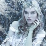Wald, mystisches Portrait, Fantasyportrait, Fantasyfotografie, Inszenierte Fotografie, besondere Bilder, Winter