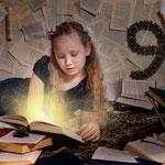 Magisches Buch, Wunderland, Fantasyshooting, inszenierte Fotografie, Kinderfoto, verkleiden, Fasching, Kostüm, Fantasy, Märchen