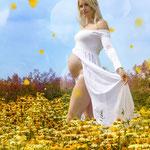 Babybauch, Schwangerschaft, Babybauchfoto, Schwangerschaftsfotografie, Erinnerungen, Mama to be, Erinnerung, Baum, Natur, Draußen, fliegendes Kleid