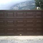 puerta corredera cuarteron madera