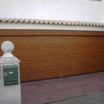 acanalada madera clara