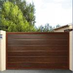 puerta corredera panel unicanal