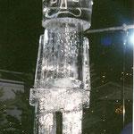 Eisskulptur : Nussknacker