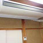 業務用のエアコンを設置しています。