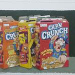 three times Crunch, 40x50 cm, 2014