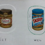 peanut butter, 25x40 cm, 2013