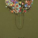 flowers, 90x180 cm