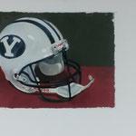 BYU Helmet, 40x50 cm