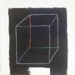 """Sanctuary"", acrylic on canvas, 25x25 cm"