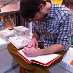 Martin Stark signiert »Professor Unrat«