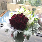 クラッチブーケ 福井 鯖江 花屋 花ひろ ウェディング ブライダル 結婚式 披露宴 挙式