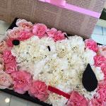 福井 鯖江 花屋 アレンジメント 配達 花ひろ プレゼント 人気 box flower スヌーピー