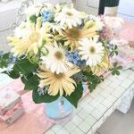 クラッチブーケ 花ひろ ウェディング オシャレ 新婦 福井 花屋 結婚式 ブライダル 挙式 披露宴