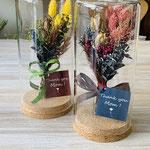 プリザーブドフラワーのオシャレな花飾り